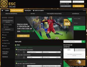 ESC Online - Homepage