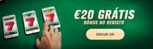 Casino Solverde Bónus 20€