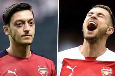 Ozil vs Ramsey