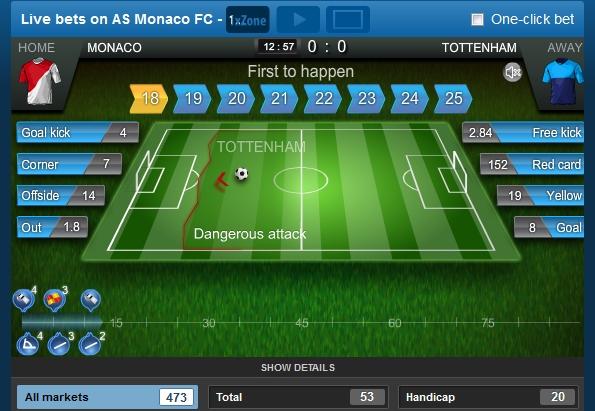 1xbet Brasil-live-betting