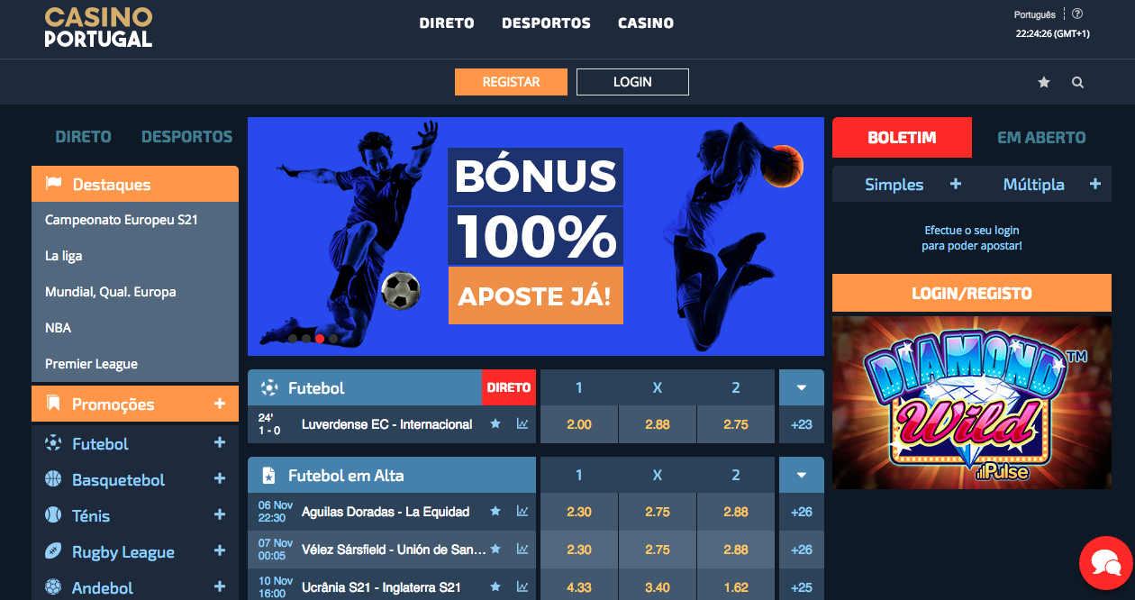 Portugal apostas online