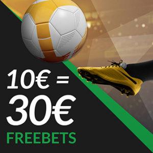 30€ Freebets ESC Online